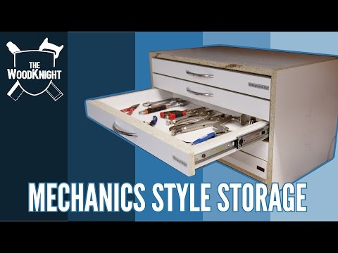 Mechanics Style Tool Chest (Mitre Saw Station Part #7)