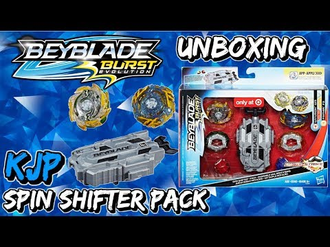 Spin Shifter Pack (Unboxing, QR Codes, Review, & Battles!)