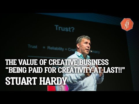 """IF! Talk: The Value of Creative Business - """"Being Paid For Creativity at Last!!"""" con Stuart Hardy"""