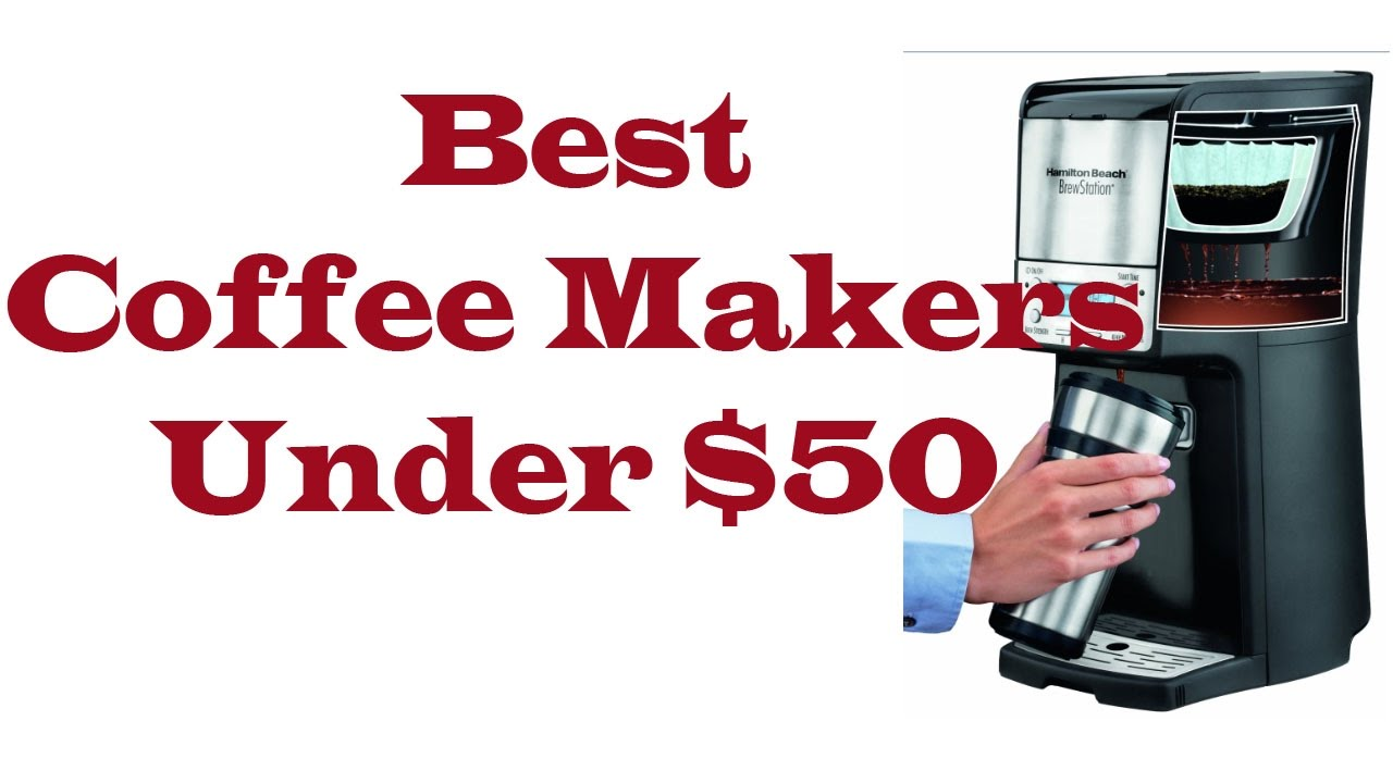 Best Coffee Makers Under USD 50 Hamilton Beach 12 Cup Reviews - YouTube