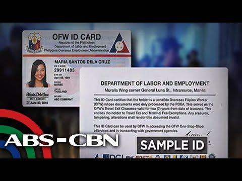 Bandila: DOLE, maglulunsad ng ID para sa OFWs