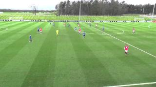As monaco vs  manchester united  nike academy cup