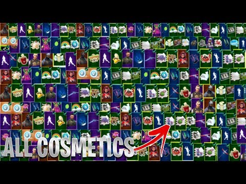 ALL FORTNITE SEASON 4 SKINS & COSMETICS! - All Season 4 Battle Pass Skins & Emotes Showcase!