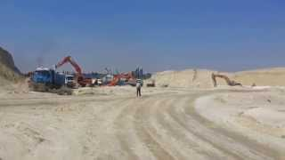 New Suez Canal: See the reaction channel workers explosions Rafah