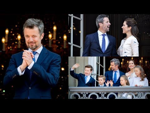 #Kronprinsen50 | Danish people cheer for Crown Prince Frederik in Amalienborg