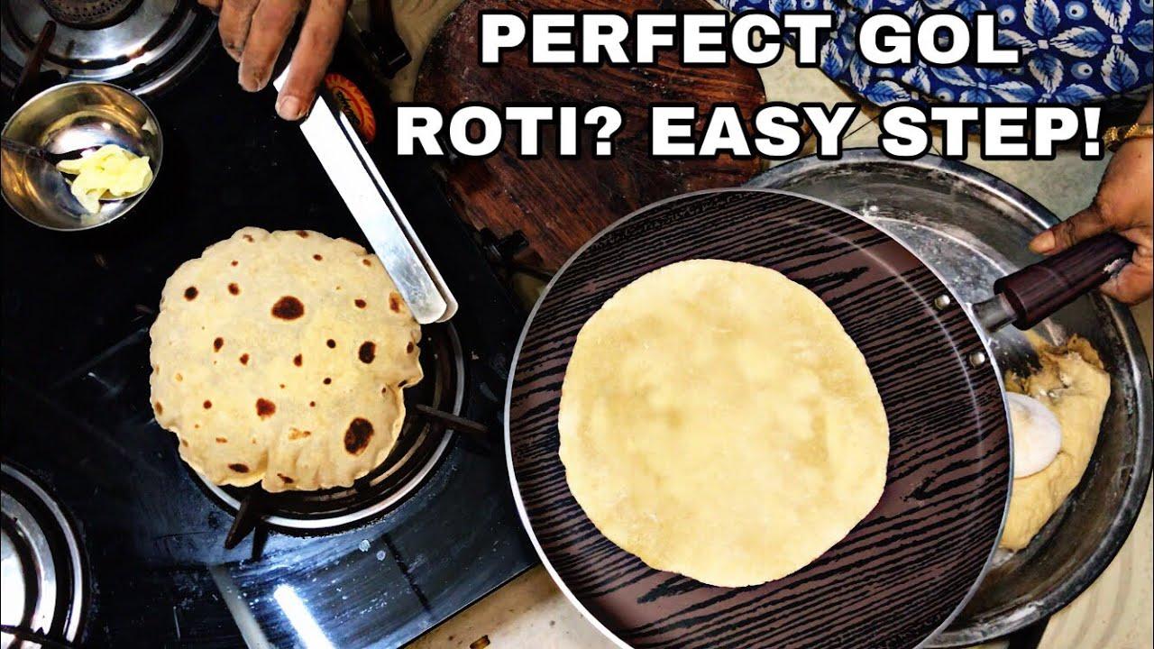 HOW TO COOK PERFECT ROTI | EASY PHULKA RECIPE #easyroti #chapati #phulkarecipe