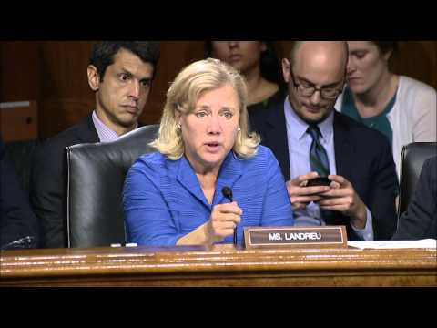 Landrieu Presses Admin to Establish Lines of Accountability with Unaccompanied Minors at Border