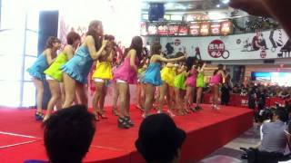 恵比寿マスカッツのアジアツアーライブ香港公演前日に行われた 公開記者...