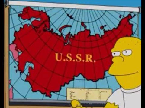 Точная дата восстановления СССР предсказана в Симпсонах