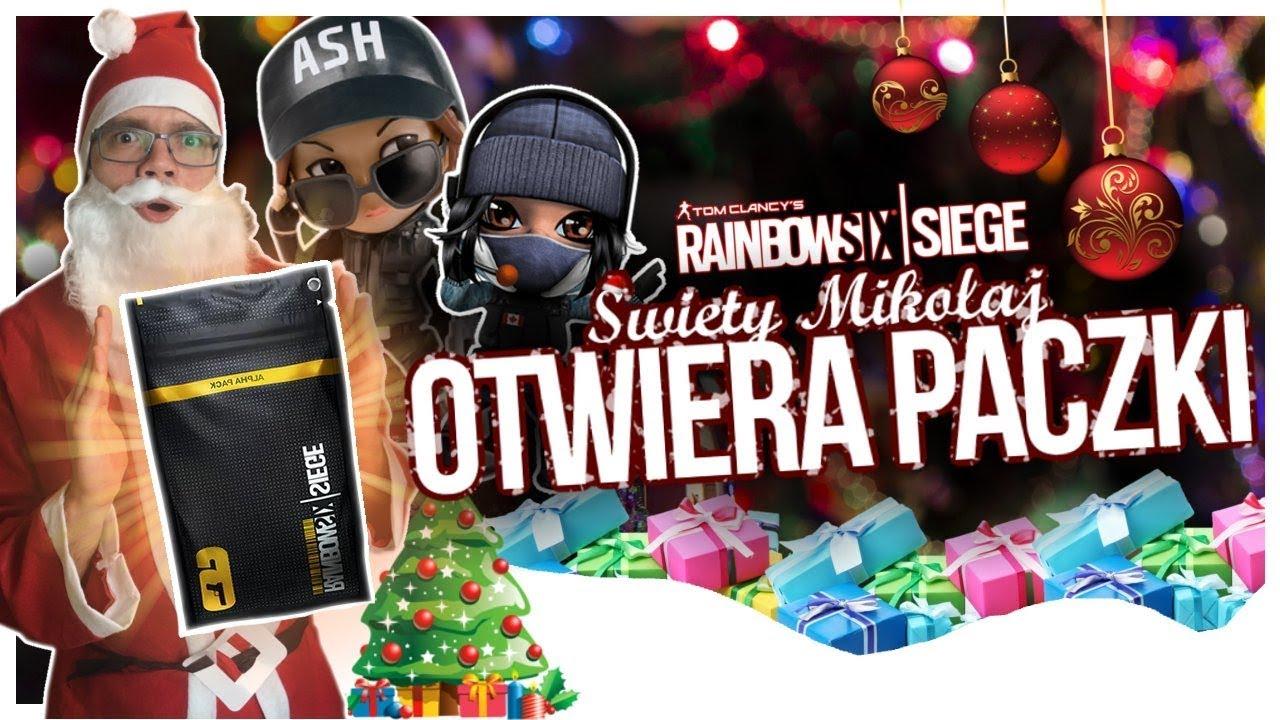 ŚWIĘTY MIKOŁAJ otwiera ALPHA PACKI! – Rainbow Six Siege Opening