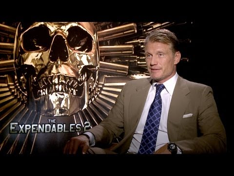 'The Expendables 2'  Dolph Lundgren Interview