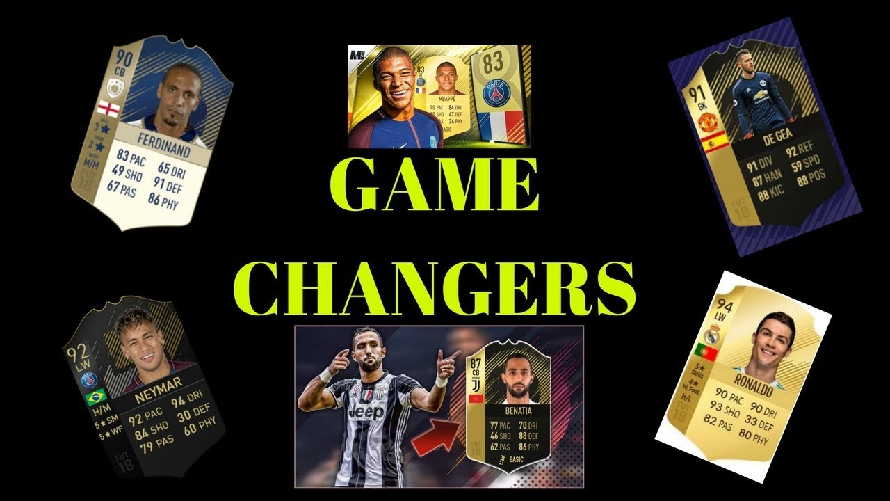 fifa 18 cards that are game changers  my opinion   youtube