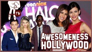 TeenNick Halo Awards: Victoria Justice and Ne-Yo - Awesomeness Hollywood