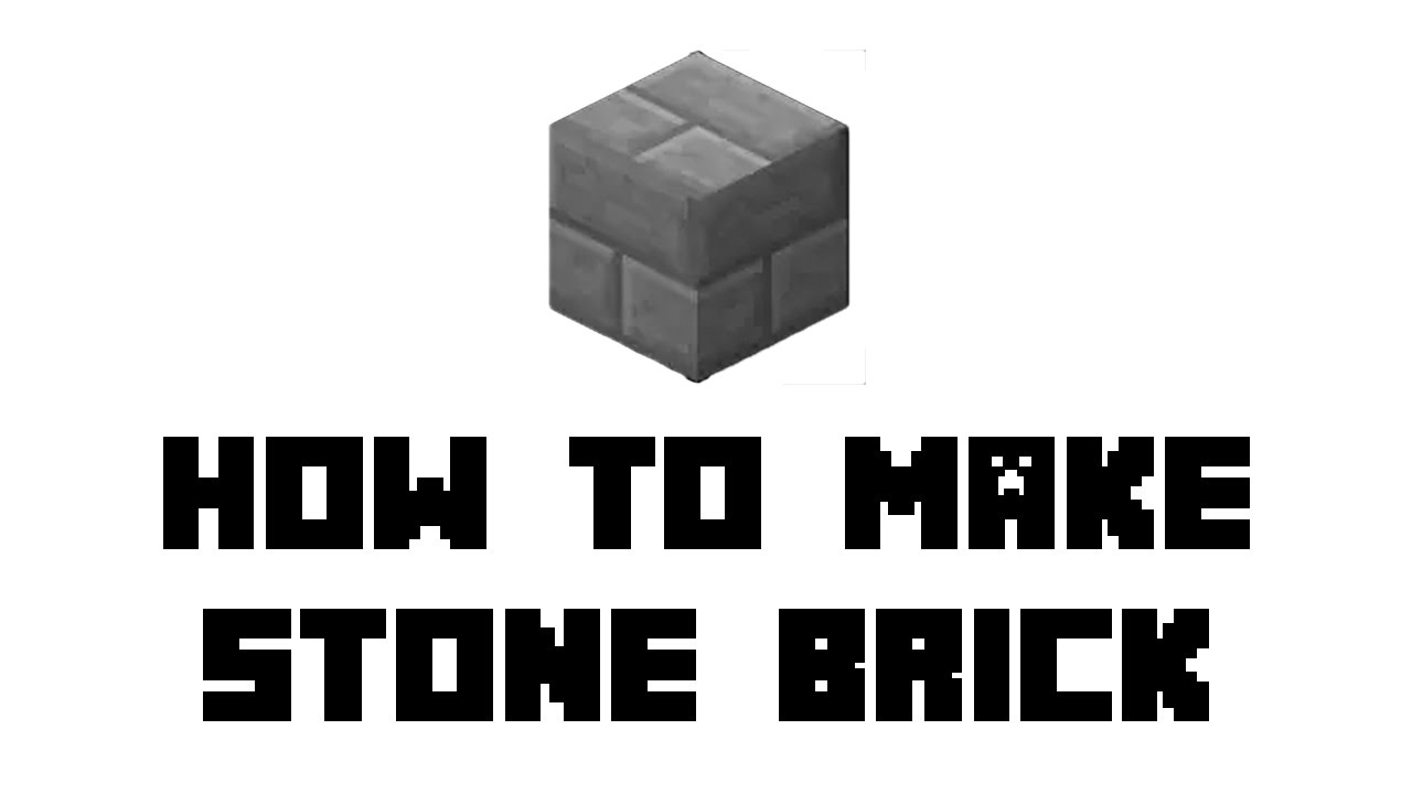 Minecraft Survival How To Make Stone Brick