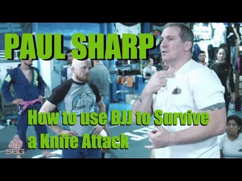 How to use BJJ to Survive a Knife Attack ft. Paul Sharp | SBG Video Podcast Episode 10