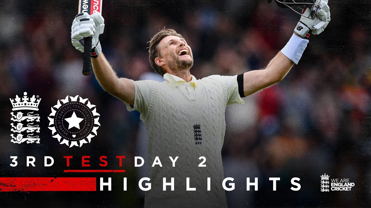 Download Sensational Root 100... Again! | England v India - Day 2 Highlights | 3rd LV= Insurance Test 2021