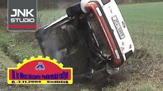 IV. Ic West historic Podbrdská rallye 2004 (crash & action)