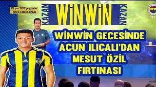 WinWin Gecesinde Mesut Özil Fırtınası
