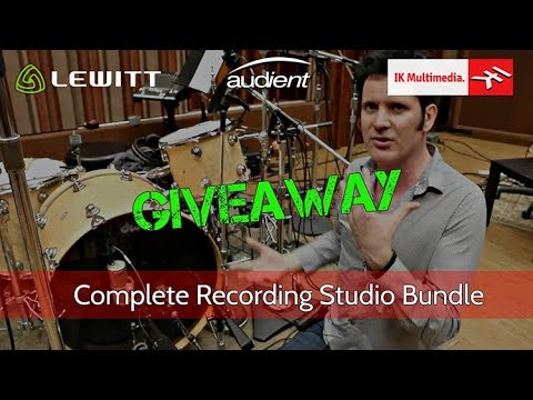 Win A Complete Recording Bundle ($4300 Value) - Warren Huart: Produce Like a Pro