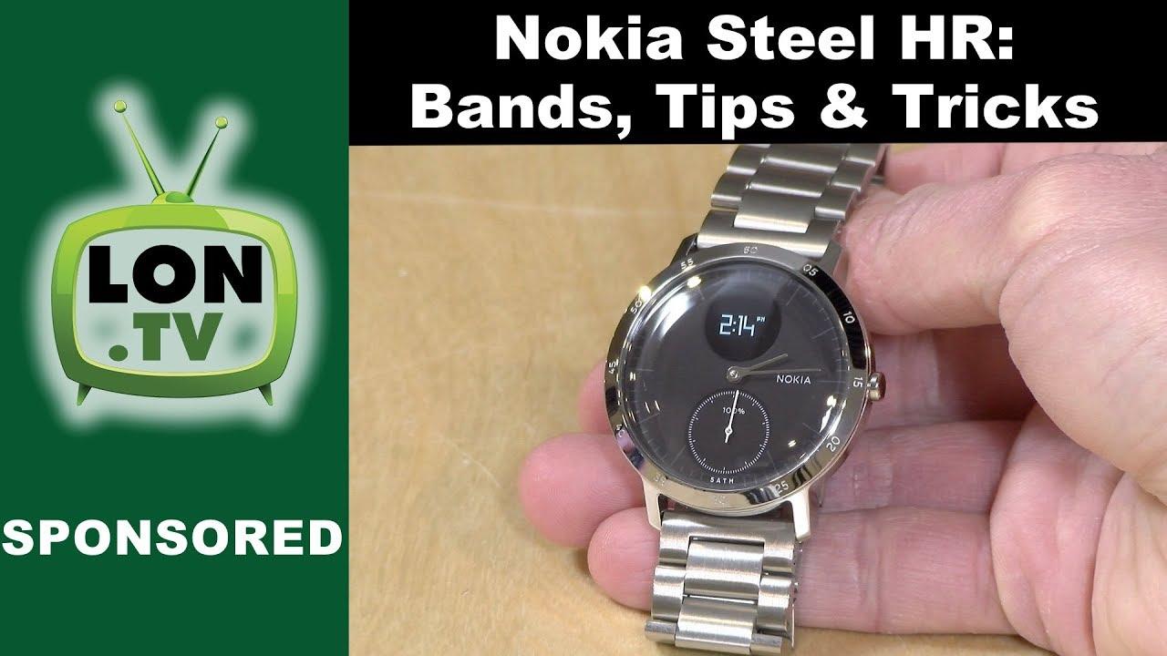Nokia Steel HR Alternative Watch Bands Tips And Tricks