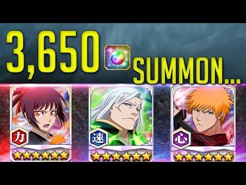 3,650 Orb Summon For Waifu SENNA [Bleach Brave Souls]