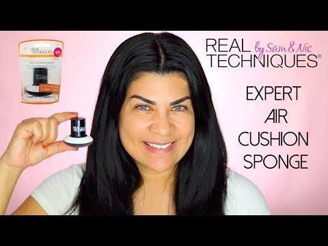 REAL TECHNIQUES EXPERT AIR CUSHION SPONGE | First Impressions
