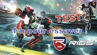 RIGS : Mechanized Combat League - TEST et premières impressions en écran juxtaposé [1080p HD]