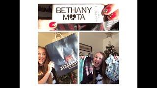 ♡ Mini Bethany Mota/Aeropostale Haul! || Heyiamgrace Thumbnail