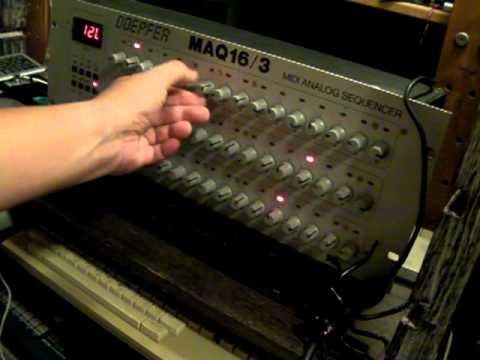 Doepfer MAQ16/3 Loves Casio CSM-1