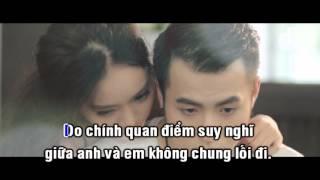 [Karaoke HD] KHÔNG CÙNG QUAN ĐIỂM - AKIRA PHAN | Beat gốc |