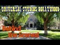 #784 Behind the Scenes at UNIVERSAL STUDIOS HOLLYWOOD! - Jordan The Lion Daily Travel Vlog (9/29/18)