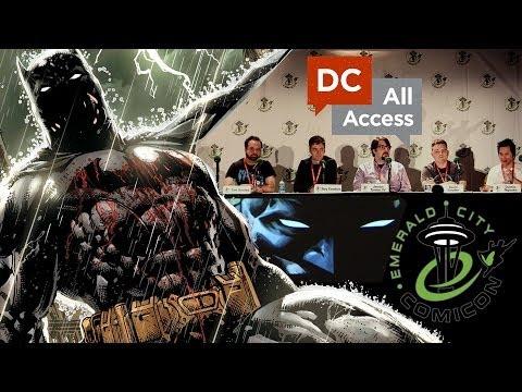 Eternal Batman Panel (Emerald City Comicon)
