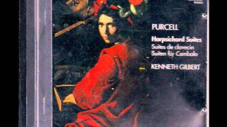 Henry Purcell - Suite  in A Minor - Z 663 - Harpsichord - Kenneth Gilbert