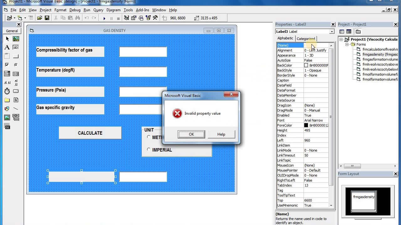Learn Visual Basic 6 0 - Frame Control and Option Buttons - quick and easy