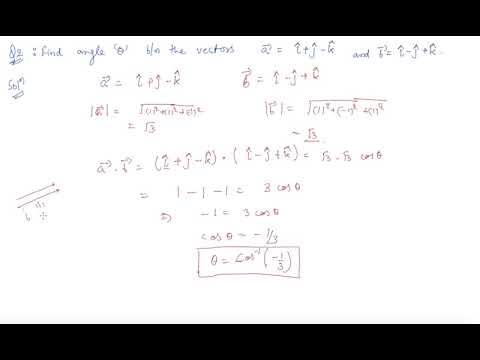 Questions Based on Scalar Product |  Class 12 Mathematics Vector Algebra
