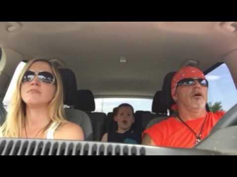 Uptown Funk Family Car Karaoke 😂