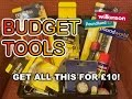 Poundland £10 Budget Bike & Automotive Basic TOOLKIT