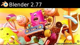 Blender 2.77(Blender Foundation и сообщество разработчиков с гордостью представили новую версию Blender 2.77. ..., 2016-03-19T17:47:17.000Z)