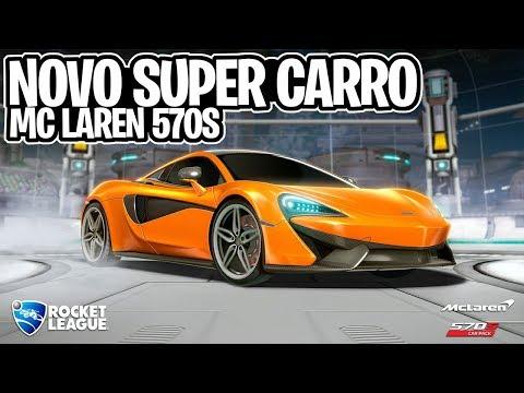NOVO SUPER CARRO MCLAREN 570S, A DLC SECRETA LANÇADA DO NADA! - Rocket League thumbnail