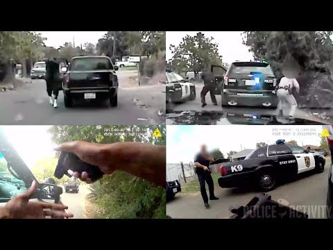 Bodycam Videos Captures Police Shootout in Sacramento, California streaming vf