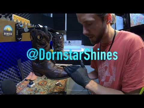 ASMR | Cowboy Boot Shine | World's Finest ASMR | Binaural | 4K