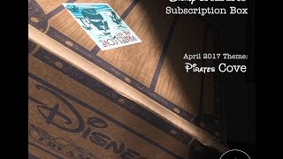 Funko Disney Treasures - Pirates Cove April 2017 - Unboxing