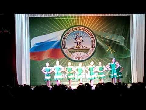 """Хореографический ансамбль """"Радуга""""- танец """"девичья плясовая"""""""