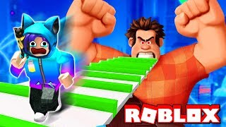 ESCAPE FROM EVIL WRECK IT RALPH OBBY IN ROBLOX!