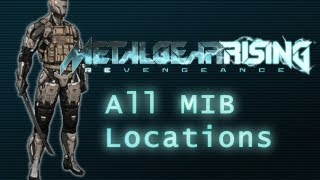 Metal Gear Rising - All MIB (Men In Boxes) Locations