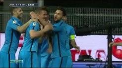 Gol di Podolski - Udinese vs. Inter (1:2)