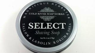 New in the Den -  Cold River Soap Works Jardin d'Orange Shaving Soap