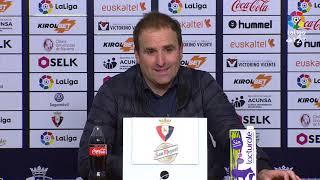 Rueda de prensa de Jagoba Arrasate tras el CA Osasuna vs UD Las Palmas (2-0)
