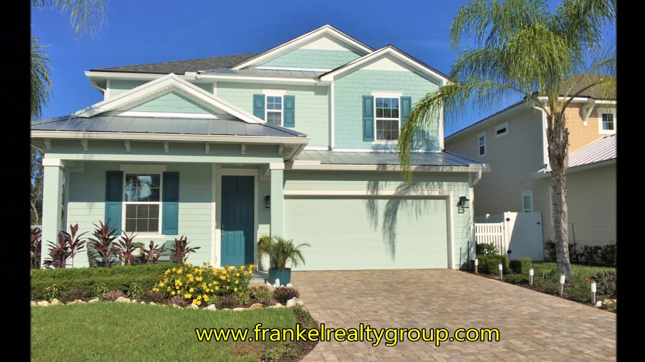 Ocean Terrace Richmond American Homes Jacksonville Fl Youtube