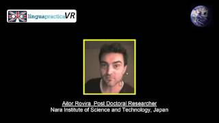 English Learning in Virtual Reality -  Aitor Rovira Interview